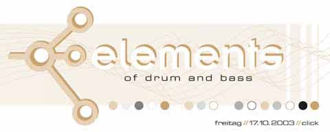 Elements of Drum and Bass 17.10.2003