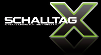 Schalltag X - 10 Years Drums For The Raving Kru